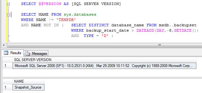 how to run a db backup script